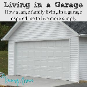 Living in a Garage
