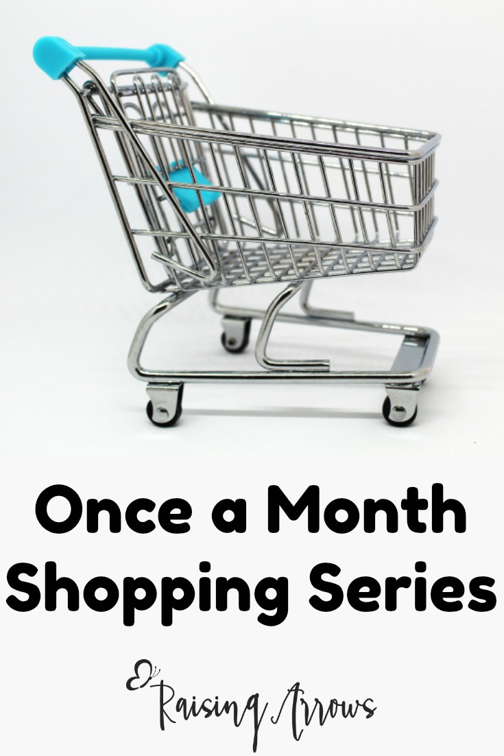 Would you like to learn how to meal plan and shop once a month?  This series is for the busy mom who needs one less thing to think about, and a lot more flexibility!