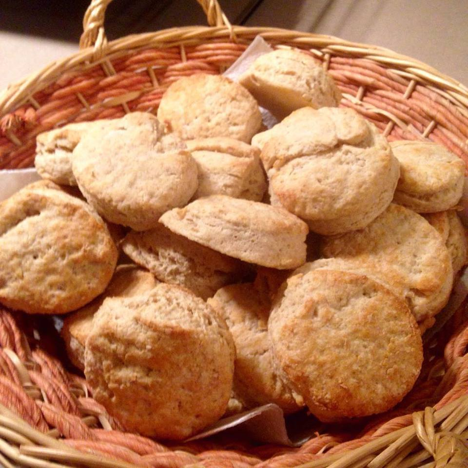 Flaky, Buttery, Melt In Your Mouth (yes, they are THAT good) biscuits! | RaisingArrows.net