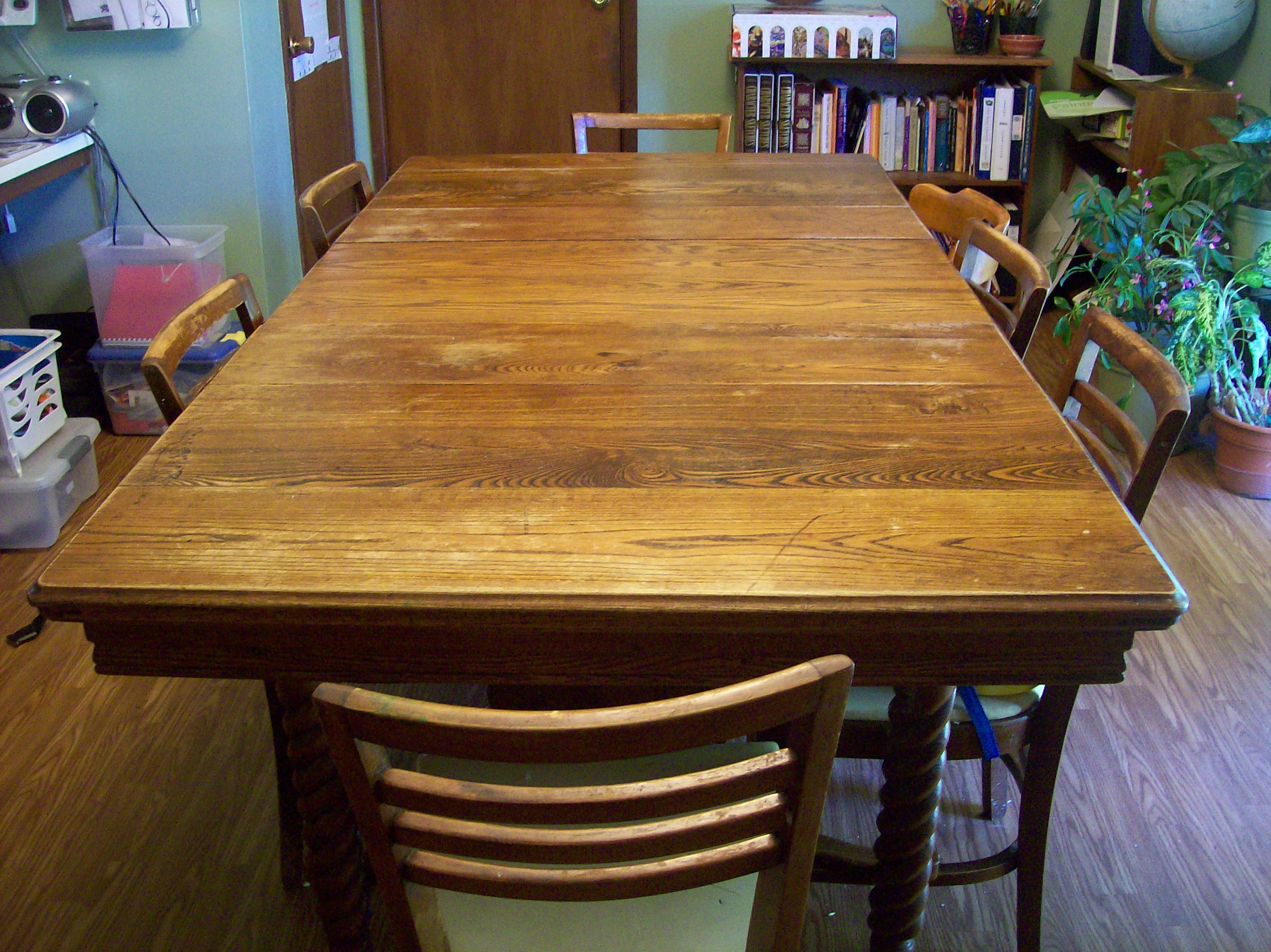 Save. Our Dining Room Table