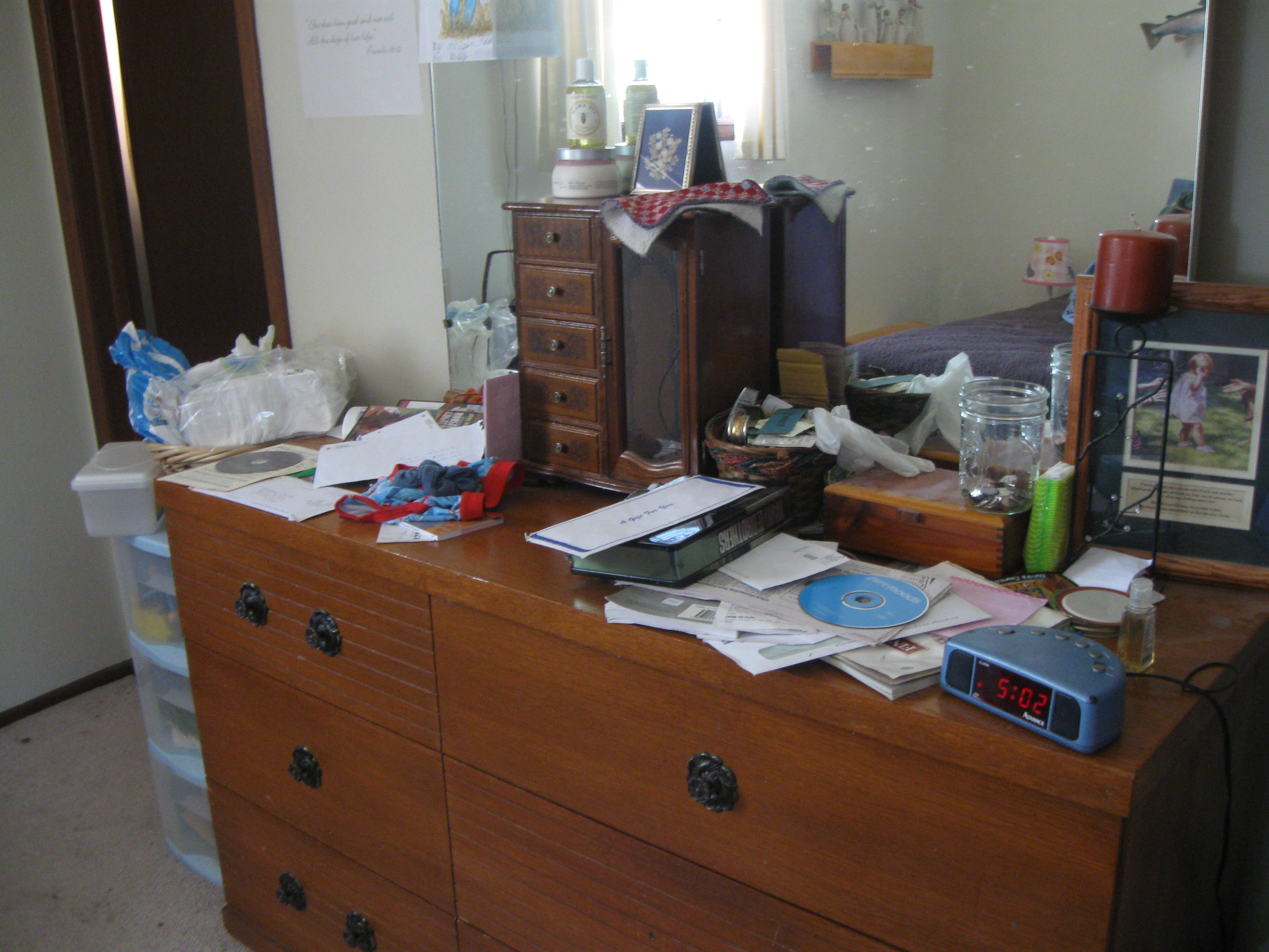 my bedroom dresser