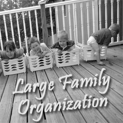 Large Family Organization @RaisingArrows.net