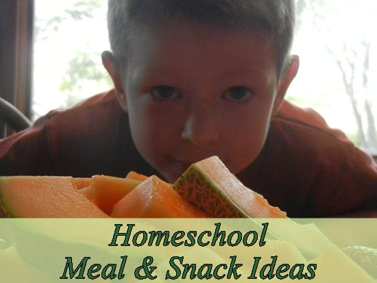 Raising Arrows: Homeschool Meal & Snack Ideas from @amyarrrows