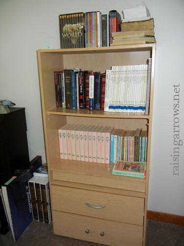 corporate bookshelf