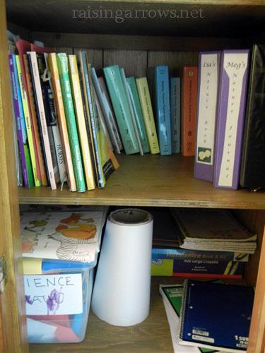 homeschool closet