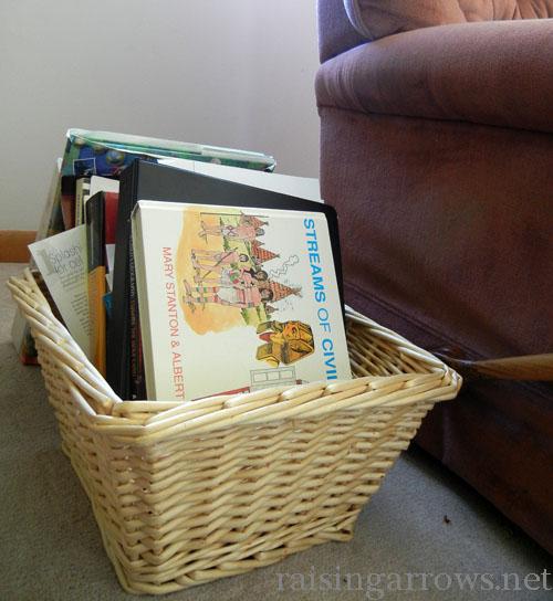 mom's basket