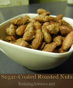 Sugar Coated Roasted Nuts