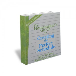 The Homemaker's Guide to Creating the Perfect Schedule