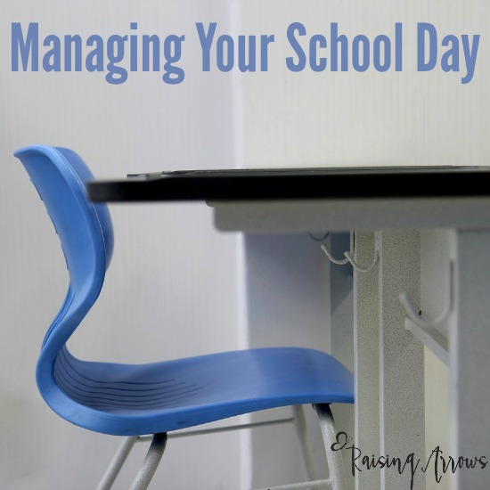 Managing your School Day