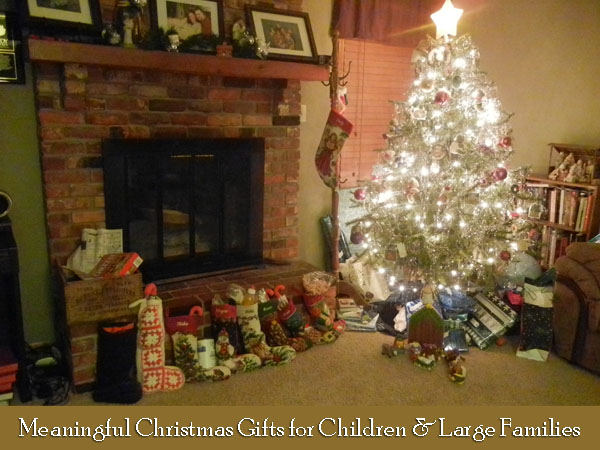 Meaningful Gift Ideas For Children & Large Families