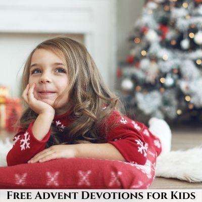 Free Advent Devotionals for Children
