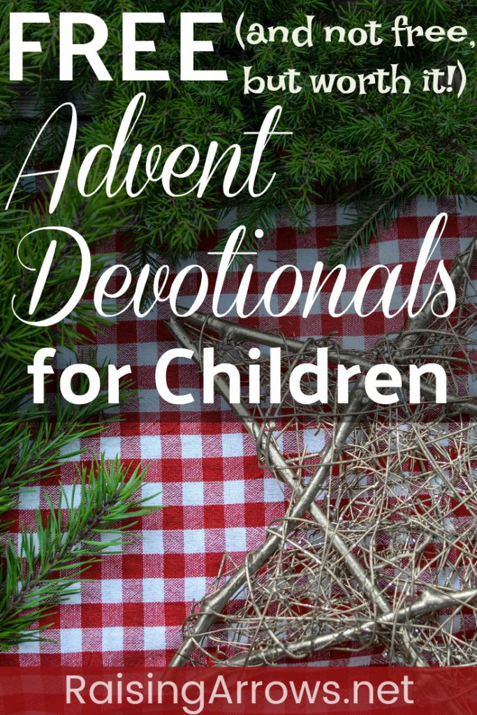 Huge list of FREE (and not free, but worth it!) Advent devotionals and resources to share with your children this Christmas season!