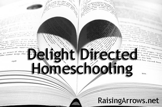 Delight Directed Homeschooling Series | RaisingArrows.net