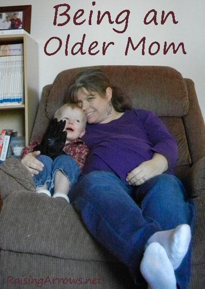 Being an Older Mom | RaisingArrows.net