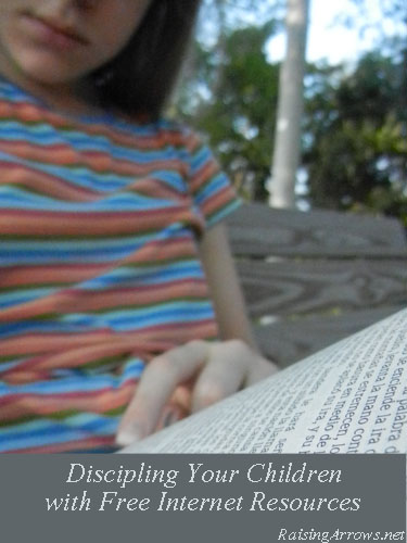 Disciple Your Children with Free Resources