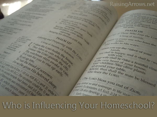 Who is Influencing Your Homeschool?
