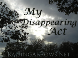 My Disappearing Act