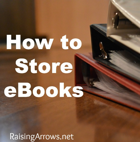 How to Store eBooks