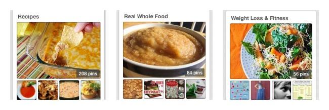 Pinterest recipe collage