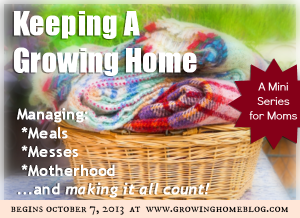 Keeping a Growing Home Series