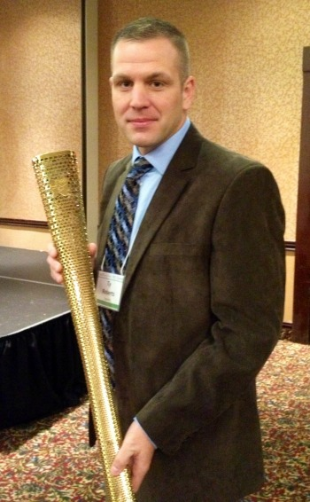 Ty with torch