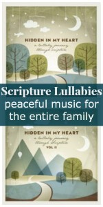 Scriptures Lullabies ~ the peaceful music I was looking for {review & giveaway} | RaisingArrows.net