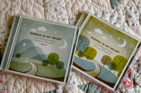 Scripture Lullabies volume I & II {review & giveaway from RaisingArrows.net}