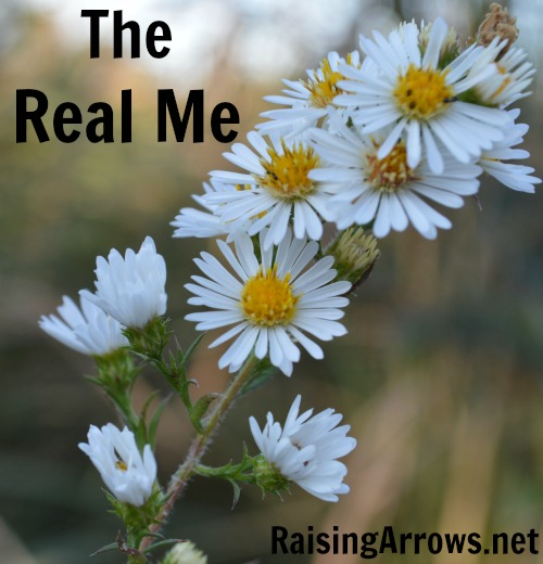 The Real Me {why being a blogger can be scary} |RaisingArrows.net