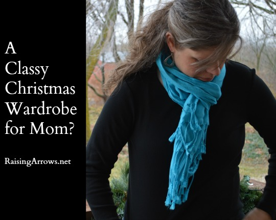 A Classy Christmas Wardrobe for Mom? | RaisingArrows.net