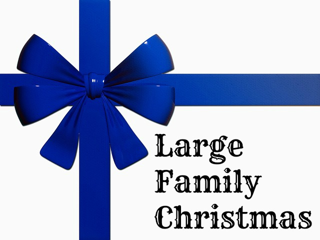 Large Family Christmas {tips and tricks for keep the peace and focus amidst the chaos} | RaisingArrows.net