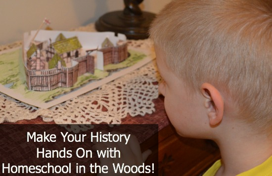 Make History Hands On with Homeschool in the Woods | RaisingArrows.net