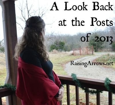 A Look Back at the Posts of 2013 | RaisingArrows.net