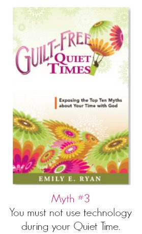 Quiet Time Myths from Guilt-Free Quiet Times by Emily Ryan {review/giveaway on Raising Arrows}