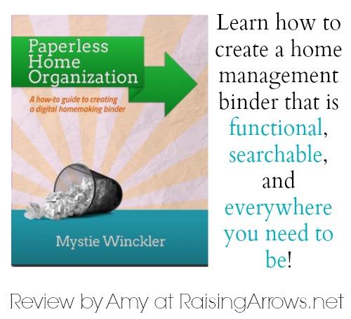 Paperless Home Organization Review | RaisingArrows.net