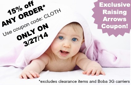Sweet Little Blessings 1 Day Exclusive Coupon Code (3/27/14) | RaisingArrows.net