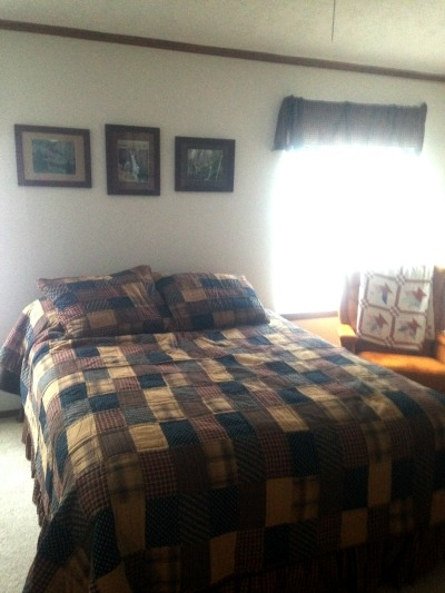 A Little Bit of Homestead (our master bedroom) | RaisingArrows.net