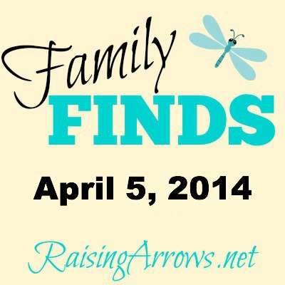 Family Finds - April 5, 2014 {lip balm, Bible Bee, free ebook, military, much more!} | RaisingArrows.net