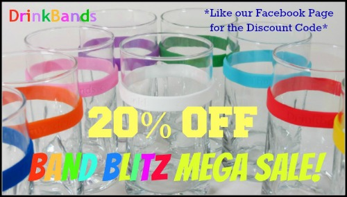 DrinkBand Blitz 20% off!