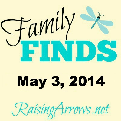 Family Finds {Little Girl Stuff & Giveaway of Large Family Homeschooling} | RaisingArrows.net