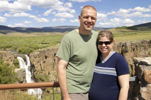 Amy_Ty North Clear Creek Falls