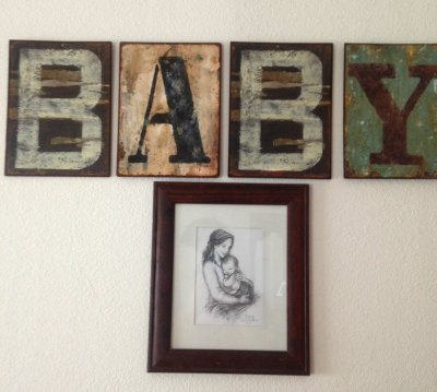 Baby sign & sketch from Breezy Tulip Studio