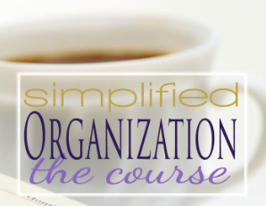 Simplified Organization eCourse Discount