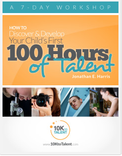 10K to Talent free ebook and courses to help you give your child the opportunity to not just make a living, but live their dream! | RaisingArrows.net