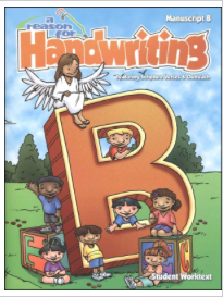 2014-15 Elementary Homeschool Curriculum - A Reason for Handwriting B | RaisingArrows.net