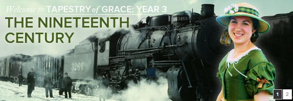 Tapestry of Grace Year 3 - part of our middle school and high school curriculum 2014 | RaisingArrows.net