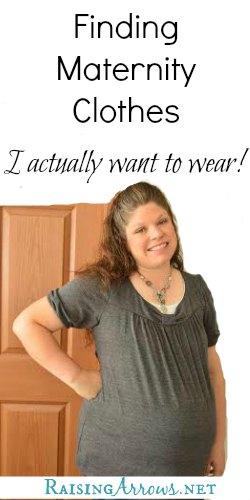 Modest & Cheap Maternity Clothes (that aren't frumpy!)