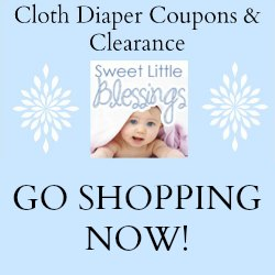 Coupons and Clearance from Sweet Little Blessings Diapers | RaisingArrows.net