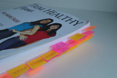 How to Flag Your Trim Healthy Mama Book | RaisingArrows.net