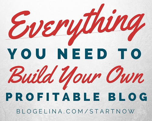 Build a Profitable Blog - $5 sale - Blogelina