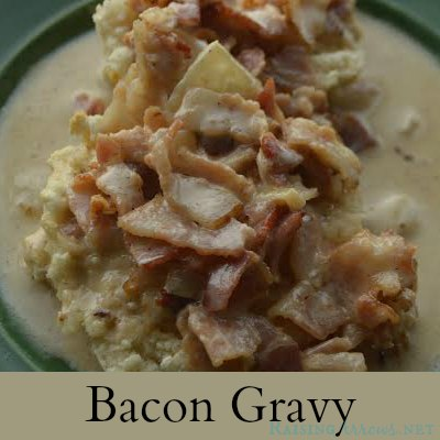 Bacon Gravy {A Trim Healthy Mama S Alternative to Biscuits and Gravy}